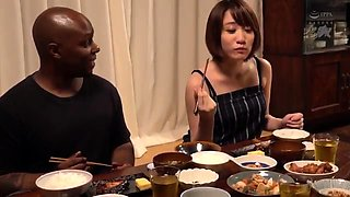 Beautiful Asian wife has a black guy fulfilling her needs