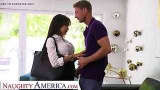 Naughty america gia milana fucks her boss&#039 husband