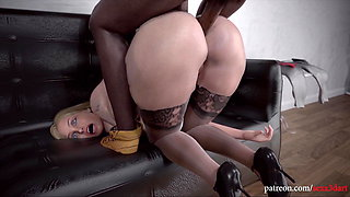 Lonely Blonde Wife vs BBC