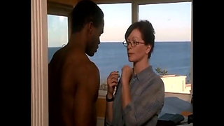 Frances Fisher and Young Guy