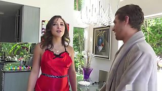 Alluring Abella Gets Her Asshole Banged By Hunk Stud