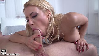 Sucking a monster cock is not enough to please Nikky Thorne anymore