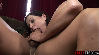 Guy fucked girlfriend Magdalene St Michaels and her stepmom Sophie Dee