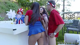 Amateur hardcore squirt Family Fourth Of July