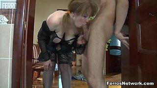 GuysForMatures Video: Flo and Benjamin