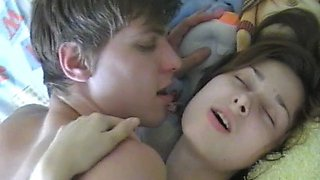 Lascivious russian cutie lena c chokes on a love stick