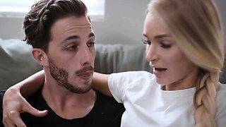 Boyfriend making gf seduce her stepmom so he can fuck both
