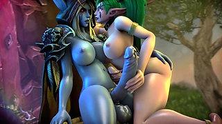 3D World of Warcraft XXX
