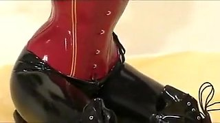Hottest homemade Latex, Fetish adult clip