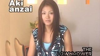 Crazy Japanese girl Aki Anzai in Best Compilation, Cougar JAV scene