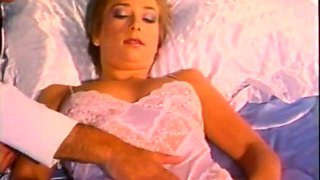 Super sexy and cute blondie got her pussy fucked while sleeping
