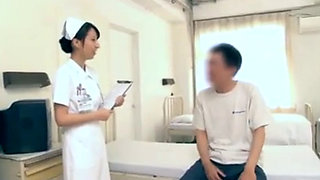 Beauty Japanese Nurse Having Sex With Patients