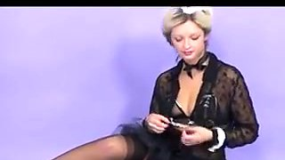 French Maids In Frilly Knickers