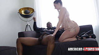 Phat Ass bitch gets anal from the BBC