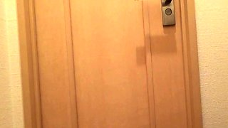 Hairy teen pees in toilet