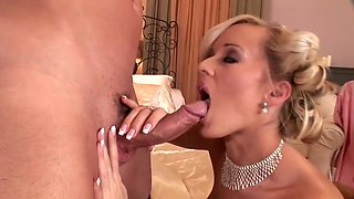 Anal treat for a good housewife - DDF Productions
