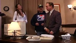 Lisa Marie Fucks The Boss After Hours