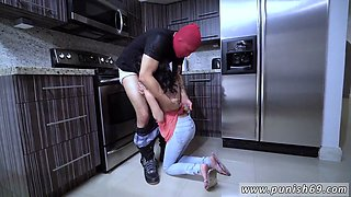 Punished by step daddy and mom When A Stranger Calls