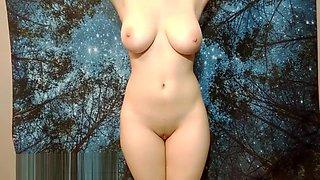 Innocent school girl made to strip and masturbate