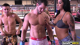 everyone wins at this boxing gym orgy