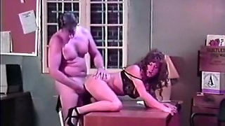 Hank Armstrong & hot vintage hot office anal sex