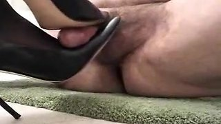 Horny homemade High Heels, Fetish adult clip