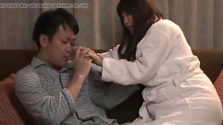 Unmarried japanese aunt wants it badly