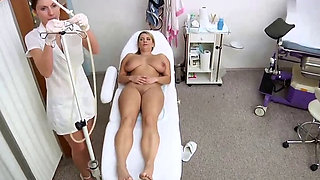 Semi educational ass and pussy examination by a woman