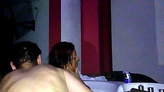 Claudia cole en el hotel