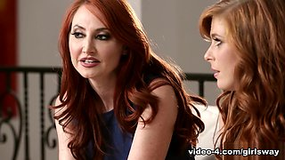 Incredible pornstars Penny Pax, Kendra James in Exotic Cunnilingus, Fingering sex scene