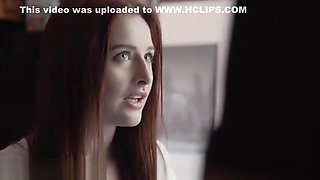 Teen Redhead Step Sister Danni Rivers Creampie by Step Brother
