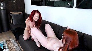 Lez Ginger Stepma Seducing Her Daughter