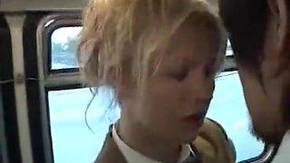 Crazy Public, Blonde adult scene