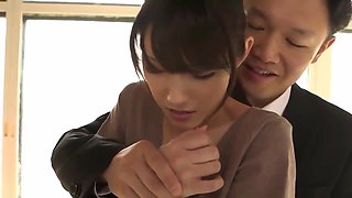Asian MILF Gets Fucked By Her Boss