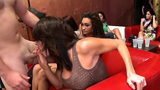 Bachelorette sluts fucked hard at the party