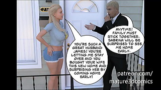 Big Ass Busty Mom Fucks Stepson & Gets Creampied (3D Comic)