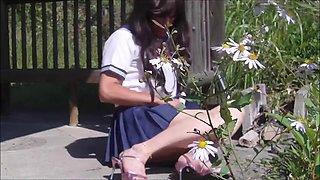 Japanese school crossdresser gurlie pai-chan