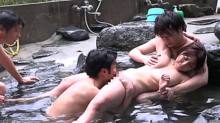 Rapist Attackers In Japanese Onsen Spa 3