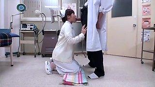 Horny Japanese girl Hirono Imai in Amazing POV, Medical JAV clip