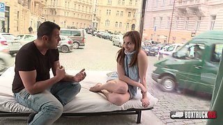Schoolgirl Antonia Sainz  loves having sex in public