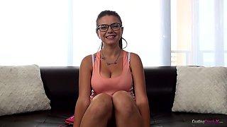 Marina Visconti. Marina - Casting Couch X