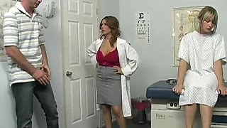 Lucky Jordan Gets Tuck Her Doctor Sienna West's Big Tits