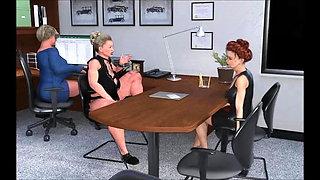 A Mature Gals Office Grind CFP