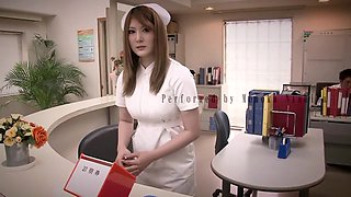 Horny Japanese girl in Crazy HD, Nurse JAV movie