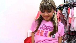 Sassy russian blonde honey Gina adores being nailed