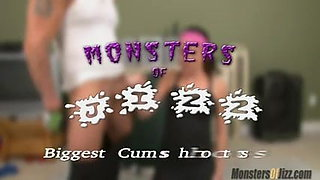 Michelle Peters handjob workout Monsters of Jizz Trailer