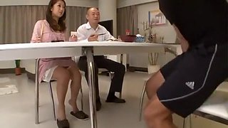 Incredible Japanese slut Satomi Suzuki in Amazing Wife, Rimming JAV clip