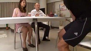 Incredible Japanese slut Satomi Suzuki in Amazing Wife, Rimming JAV clip