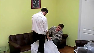 Girlfriend fucked by her godparents