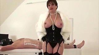 British dominatrix mummification and wrapping